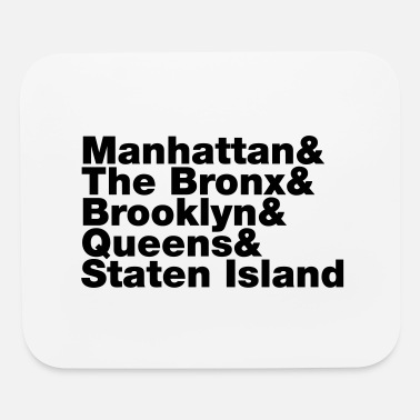 5 Boroughs Five Boroughs ~ New York City - Mouse Pad