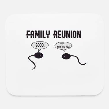 Family Reunion Science Sperm Family Reunion - Mouse Pad