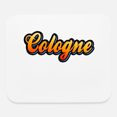 Colonia Cologne Vintage Retro Lettering Köln Lover Colonia - Mouse Pad