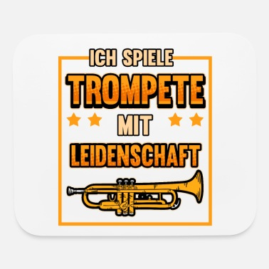 Marchingband Trumpet Music Trumpets Marchingband Gift - Mouse Pad