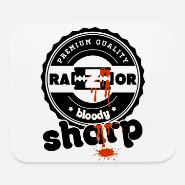 Bloody Razor Sharp Premium Quality bloody damn Blade - Mouse Pad