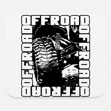 Sports Car Offroad Truck 4x4 - Offroader and Offroad - Mouse Pad