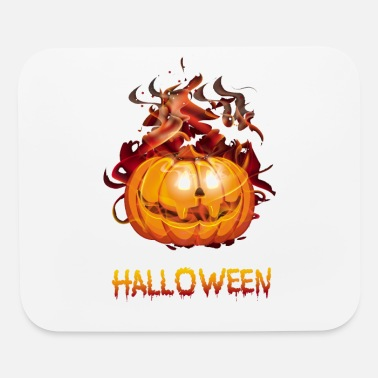Halloween Halloween Halloween Halloween Halloween Halloween - Mouse Pad