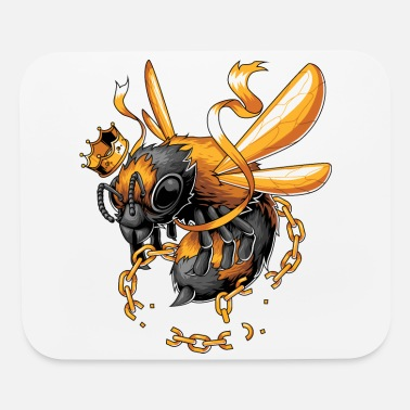 Bee The king bee free from the chain - Mouse Pad