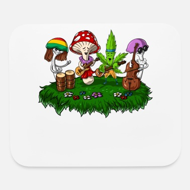 Hippie Festival Magic Mushrooms Hippie Festival - Mouse Pad