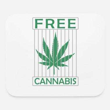 Ganja Free Cannabis dope - Mouse Pad