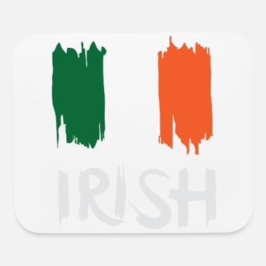 Irish For One Day St. Patrick's Day - Irish flag - Mouse Pad