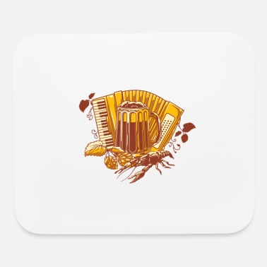 Beer Tent Tent beer tent Oktoberfest Wiesn - Mouse Pad