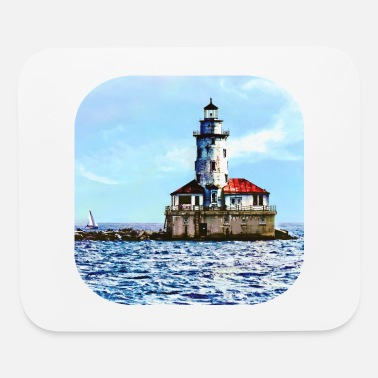 Lighthouse Chicago IL - Chicago Harbor Light - Mouse Pad