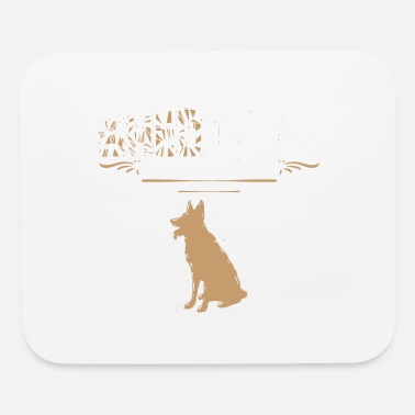 Herding Dog Shed Happens Brush It Off - Mouse Pad