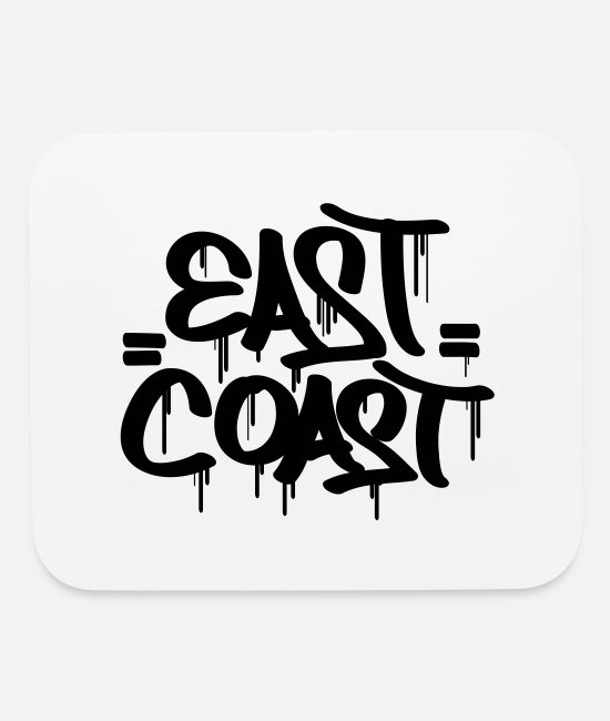 East Coast Mouse Pads - East Coast - Mouse Pad white