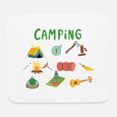 Camp Camping Camp - Mouse Pad