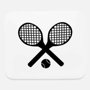 Wimbeldon Tennis Rackets and Ball - Mouse Pad
