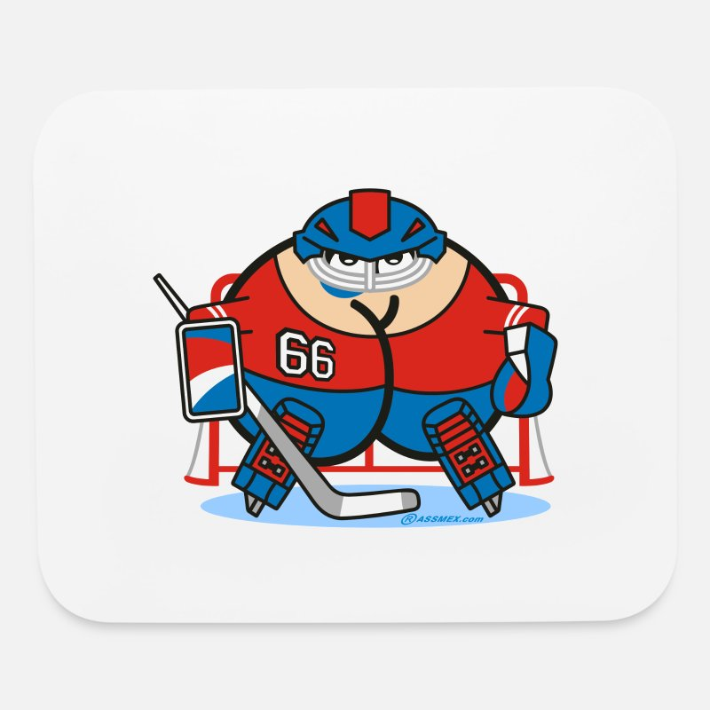 Shop Hockey Goalie Mouse Pads Online Spreadshirt