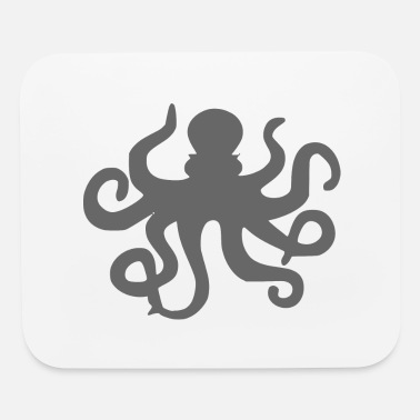 Cirrus Octopus design gift idea - Mouse Pad