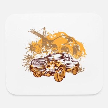 Abstract Truck Tacoma - Mouse Pad