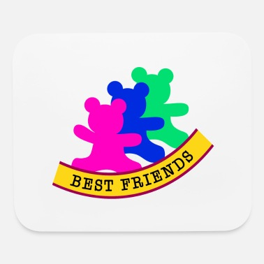 Best Friend And best friends / friends - Mouse Pad