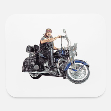 bikie - Mouse Pad