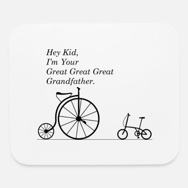Bmx Grandfather GREAT GRANDFATHER OF BIKE - Mouse Pad
