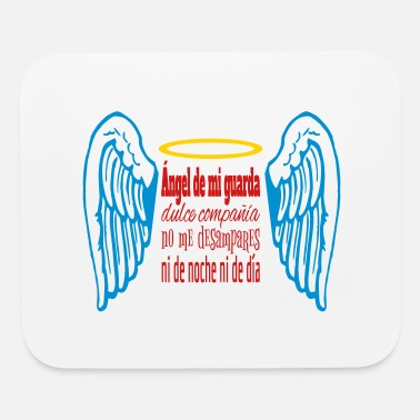 Ángel Angel de mi guarda tricolor - Mouse Pad