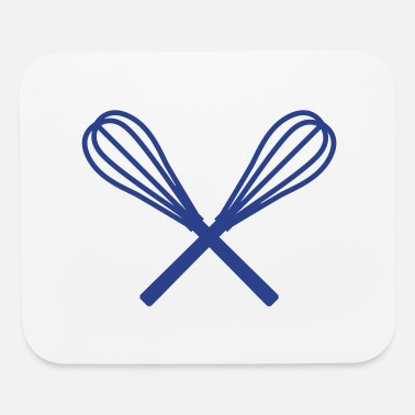 Whisk whisk crossed - Mouse Pad