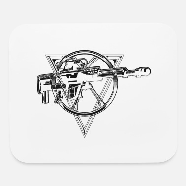 Sniper Rifle Sniper rifle weapons gun - Mouse Pad