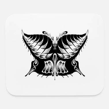 Abstract Abstract Butterfly Silhouette - Mouse Pad