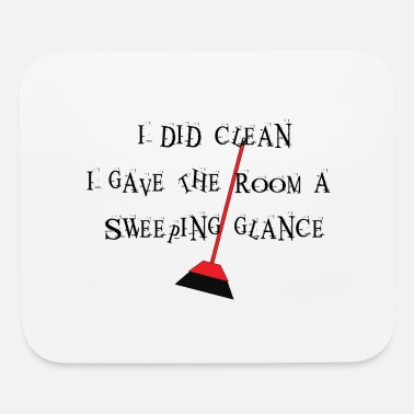 Sweep Sweeping Glance - Mouse Pad