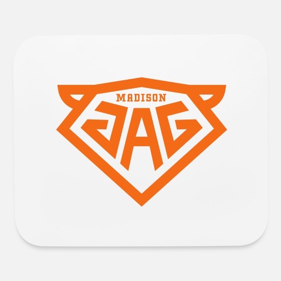 Jag Mouse Pads - MADISON-JAG_v02 - Mouse Pad white
