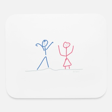 Boys And Girls Boy Girl - Mouse Pad