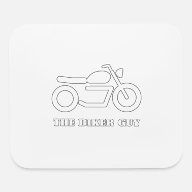 The Biker Guy - Mouse pad Horizontal