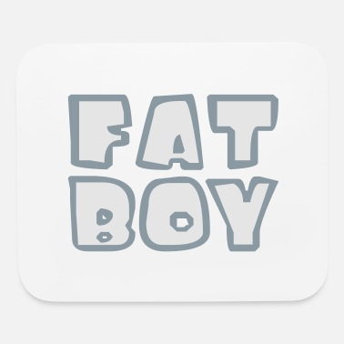 Fat body fat fat lifting bodybuilder man bold fat diet - Mouse Pad