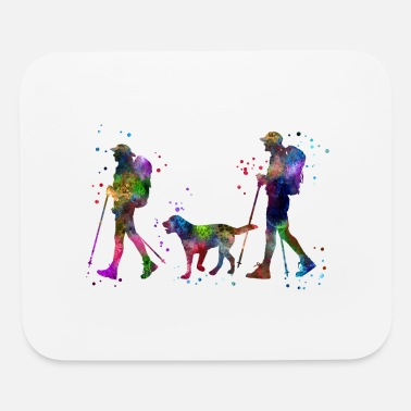 Couples Traveling as a couple, couple, couple traveling - Mouse pad Horizontal