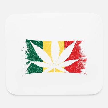 420 Hemp Leaf Cannabis Lover Stoners Birthday Flag - Mouse Pad