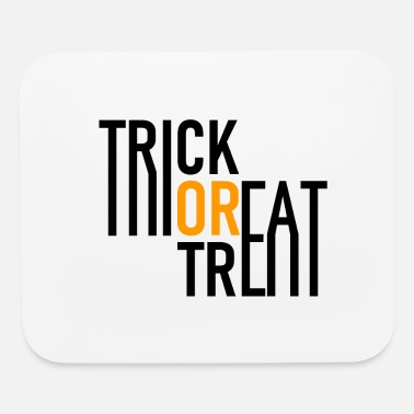 Vampire Trick or Treat - Halloween - Pumpkin - Zombie - Mouse Pad