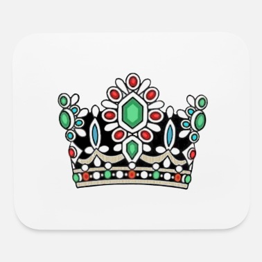 Persian History Crown Royal Majesty Queen Royalty Coronation King - Mouse Pad