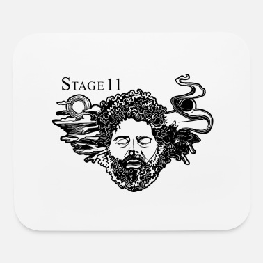 Stage 11 album cover BLACK - Mouse Pad