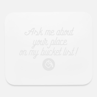 List Bucket List - Mouse Pad