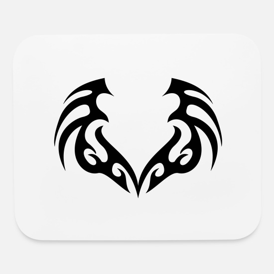 Tribal Mouse Pads - SHARP TATTOO - Mouse Pad white