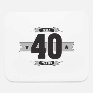 B Day B-day 40 - Mouse Pad