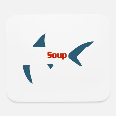 Fin No Soup Shark Fin - Mouse Pad