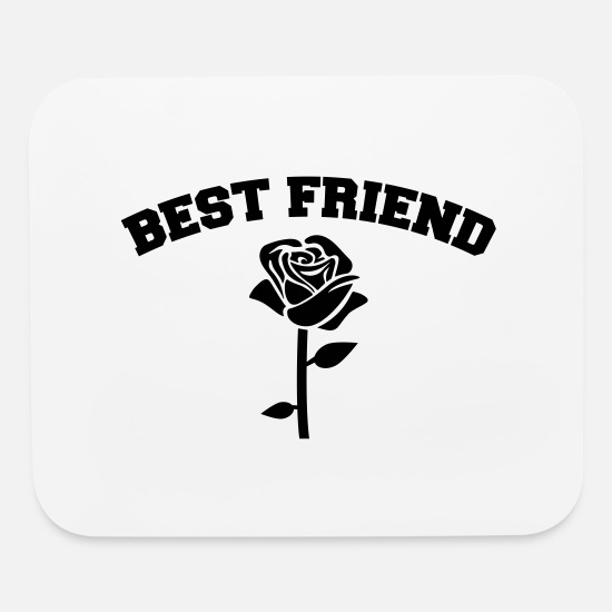 Friends Mouse Pads - Best Friend - Mouse Pad white