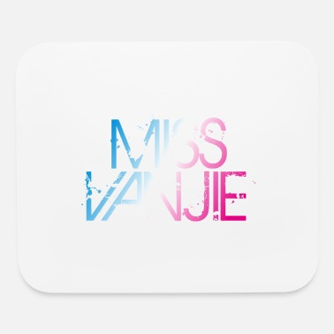 miss vanjie - Mouse pad Horizontal