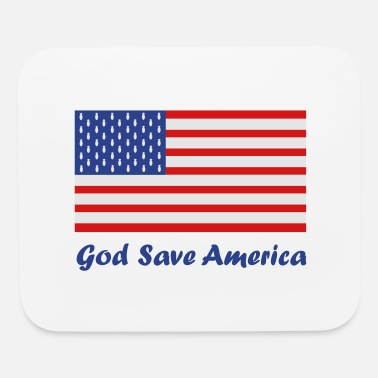 God Save America Bombs - Mouse Pad