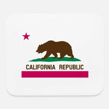 California Republic Flag California Republic Flag (HQ) - Mouse Pad