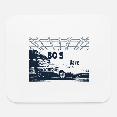 80s Car - 80´s Wave - Mouse Pad
