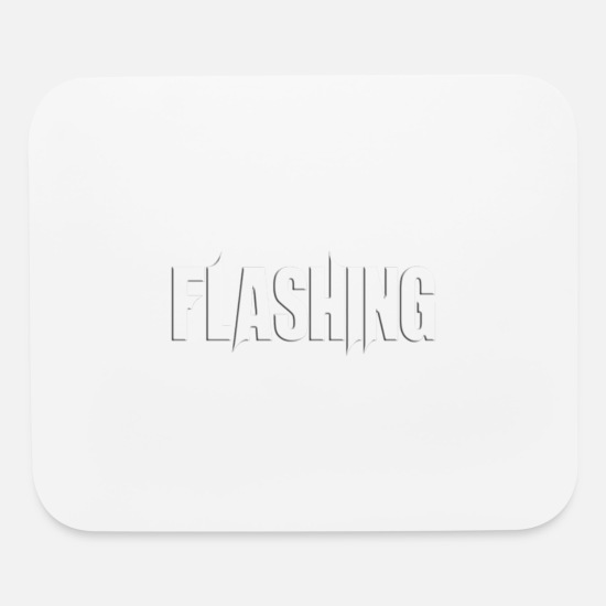 New Mouse Pads - FLASHING - Mouse Pad white