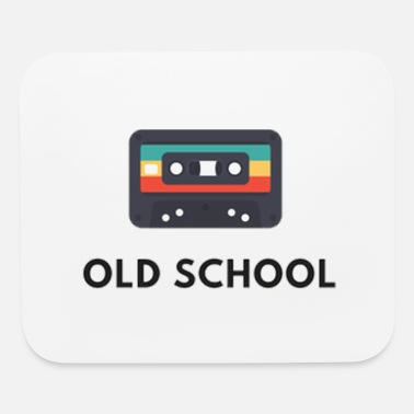 Old old school casette , old music - Mouse Pad