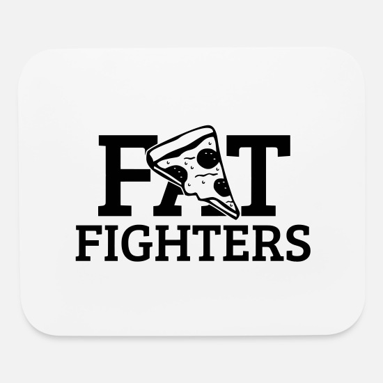Gift Idea Mouse Pads - Fat Fighters - Mouse Pad white