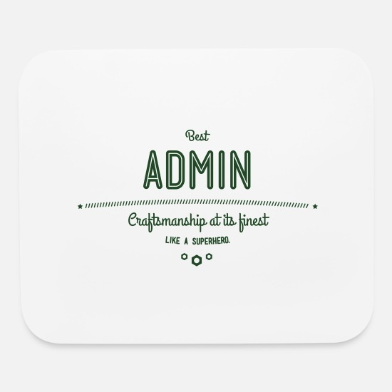 Root Mouse Pads - Best Admin - craftsmanship at its finest, like a - Mouse Pad white